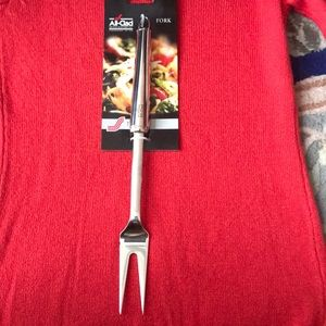 All-clad Stainless Steel Serving Fork,Silver